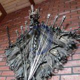 """Iešmų komplektas """"Drakonas""""."""