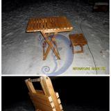 Sulankstomas stalas ir kėdė