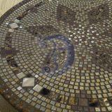 Rusvų atspalvių mozaikos padėklas