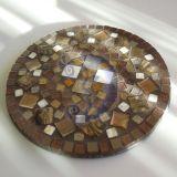 Apvalus mozaikos padėkliukas