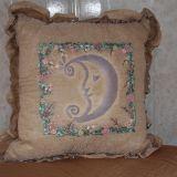 Siuvinėtas pagalvės užvalkalas