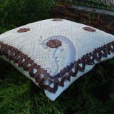 Nerta dekoratyvinė pagalvėlė