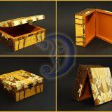 """Dėžutė """"Orchidėjų šokis"""" 15x15"""