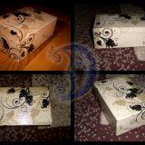 Dekoruota dėžutė