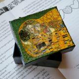 Kartoninė dėžutė Klimto motyvais