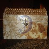 dėžutė - angeliukas