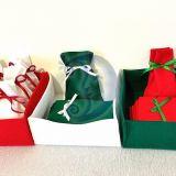 Kalėdos Dovanų maišeliai Dekoracija