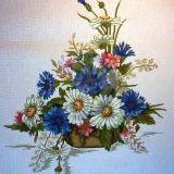 Laukų gėlių puokštė