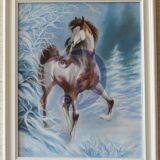 Žirgas žiemą