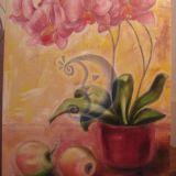 ''natiurmortas su orchideja&am