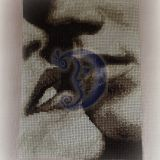 Vyro ir moters lūpos (neįrėminta)