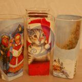 Kalėdinės stiklinės