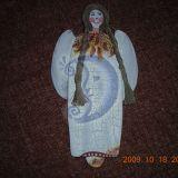 angelas lininėmis kasomis