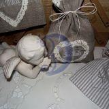 """Lininiai dovanų maišeliai """"Su Meile"""