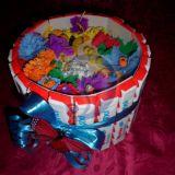 Tortukas - dovanos įpakavimas