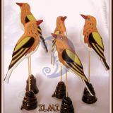 stalo dekoracija - paukšteliai