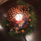 Kalėdinė puokštė