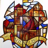 VILNIUS, vitrazas