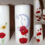 Žvakė ir vaza
