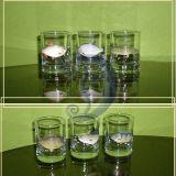 Dekoruoti stikliukai zvejui