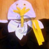 Erelio, vanago, paukščio kostiumas