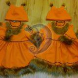 Voveraitės karnavalinis kostiumas - sesė