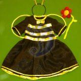 Bitutės, bitės kostiumas mergaitei