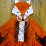 Laputės, lapės karnavalinis kostiumas