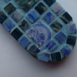 Mozaikos pakabukas raktams ar telefonui