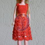 Barbie-oranžinis