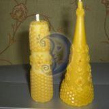 bičių vaško žvakytės