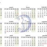Kalendorius sau ir kitiems