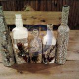 Dekoruoti buteliai