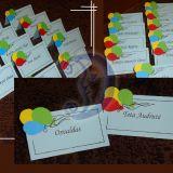 Stalo kortelės krikštynoms