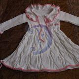 Nauja rankų darbo megzta suknelė