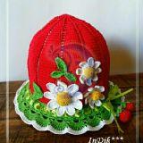 Kepurėlės, skrybėlaitės Medvilnė, 48-49