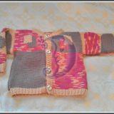 Megztinis su kvadratais