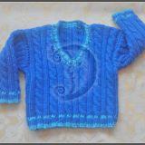Pynių rašto megztinis