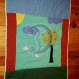 Antklodėlė-žaidimo kilimėlis kūdikiui