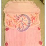 Rausva antklodėlė - vokelis