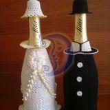 Apnerti šampano buteliai