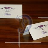 Stalo kortelė vestuvėms