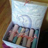 dovana + dėžė