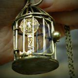 Pakabukas Auksinis raktas narvelyje