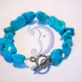 Mėlyno koralo apyrankė