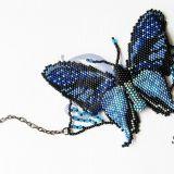 Mėlyna drugelio apyrankė
