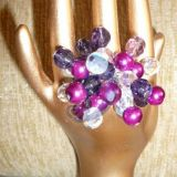 Žiedukas - violetinis