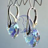 Sidabras ir Swarovski kristalai
