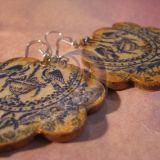 melyno ornamento auskarai