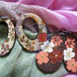 Gėlėti auskariukai